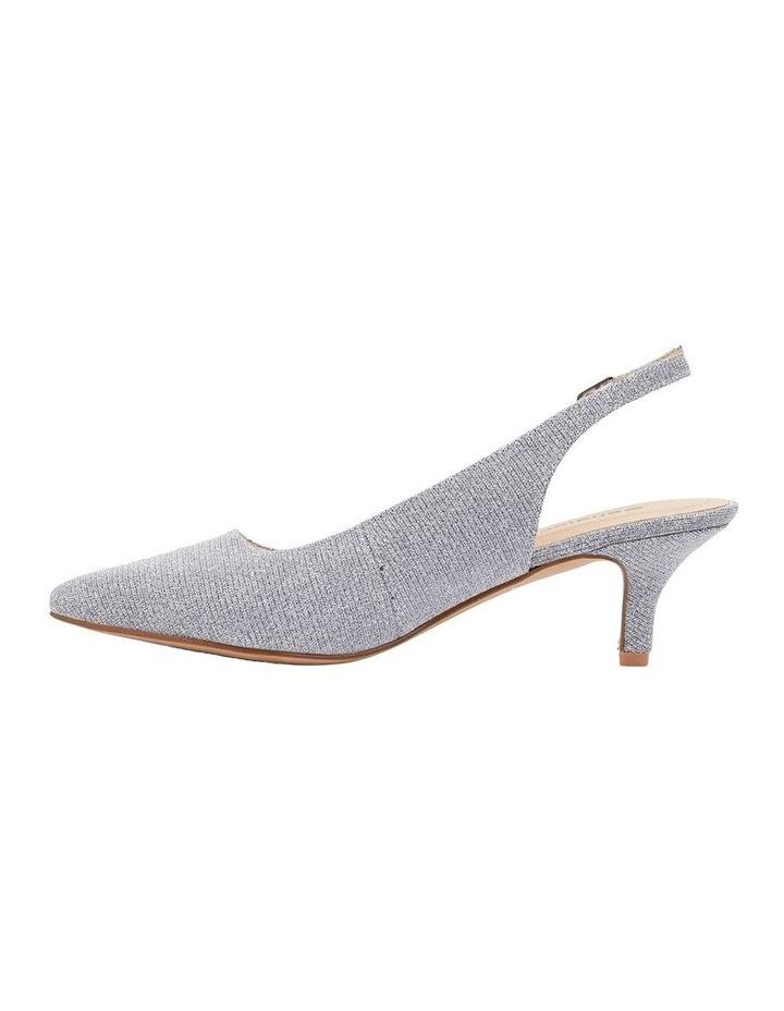 Nina Pewter Sparkle Heeled Shoes image 3