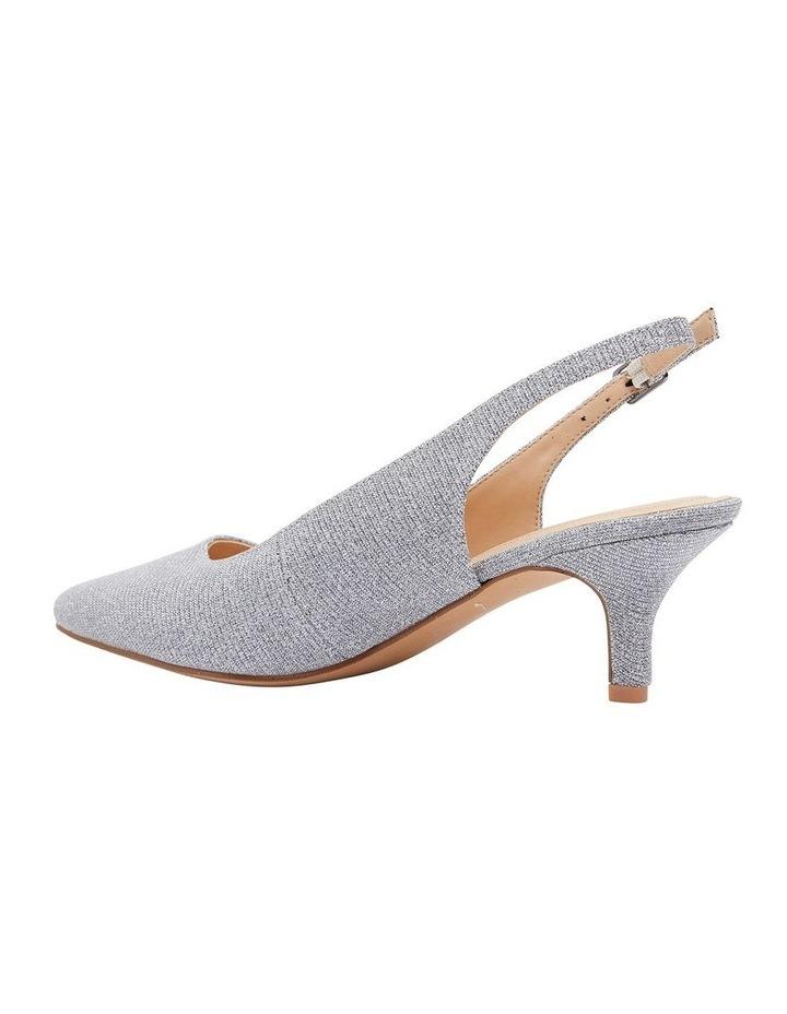 Nina Pewter Sparkle Heeled Shoes image 4