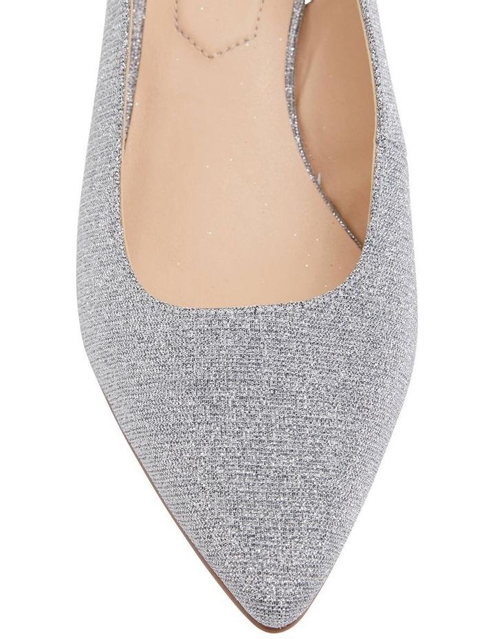 Nina Pewter Sparkle Heeled Shoes image 5