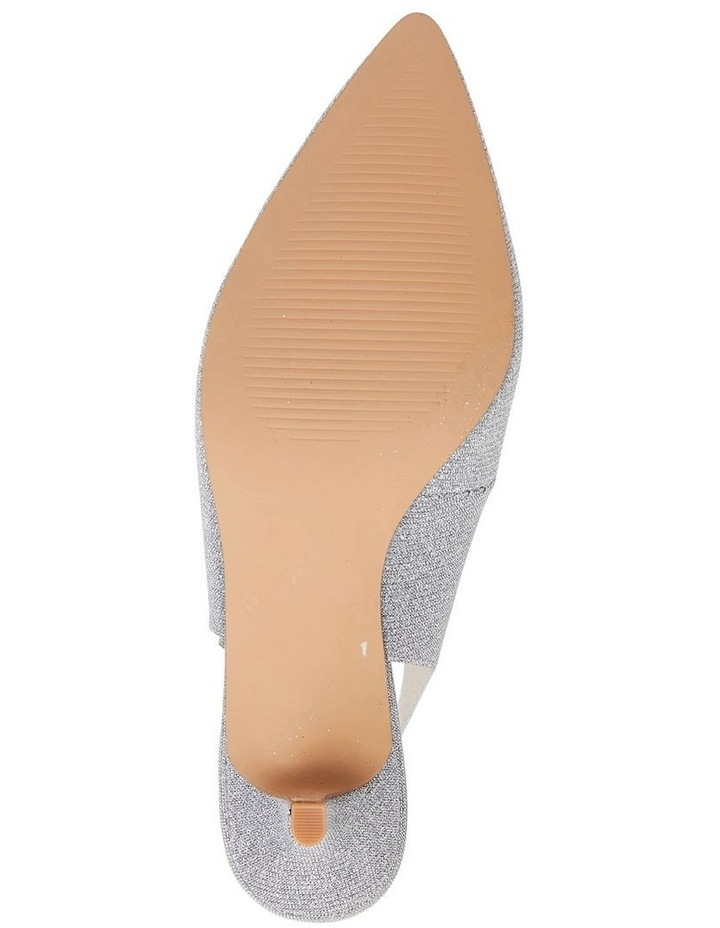 Nina Pewter Sparkle Heeled Shoes image 7
