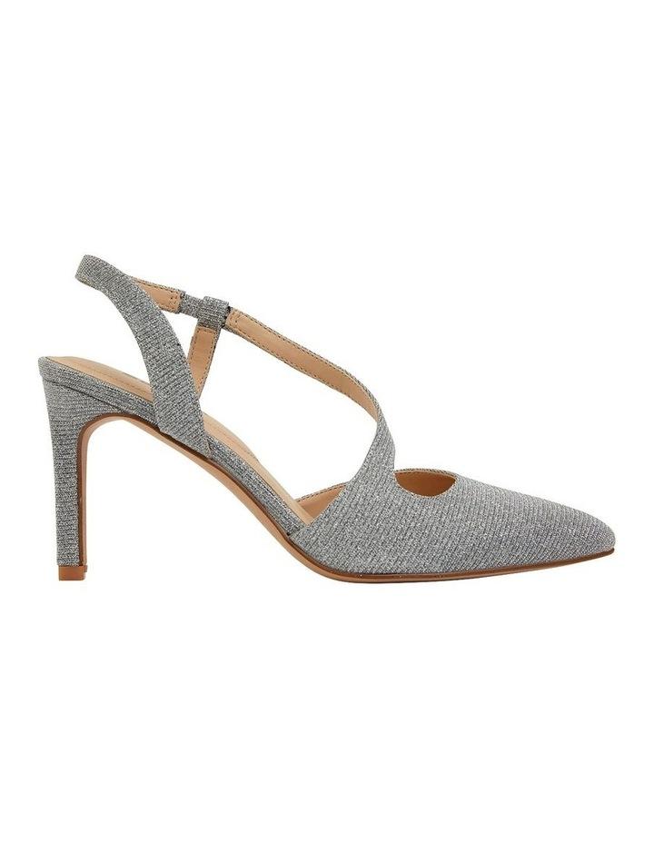Odessa Pewter Sparkle Heeled Shoes image 1