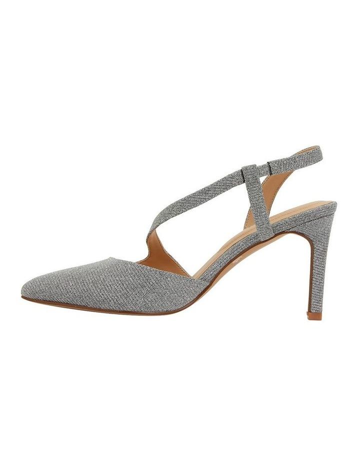 Odessa Pewter Sparkle Heeled Shoes image 3