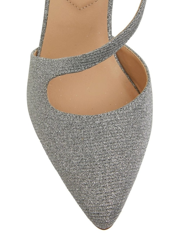 Odessa Pewter Sparkle Heeled Shoes image 5