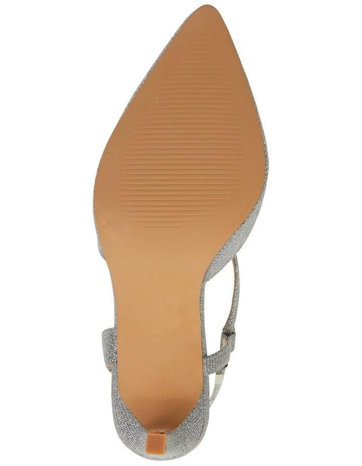 Odessa Pewter Sparkle Heeled Shoes image 7