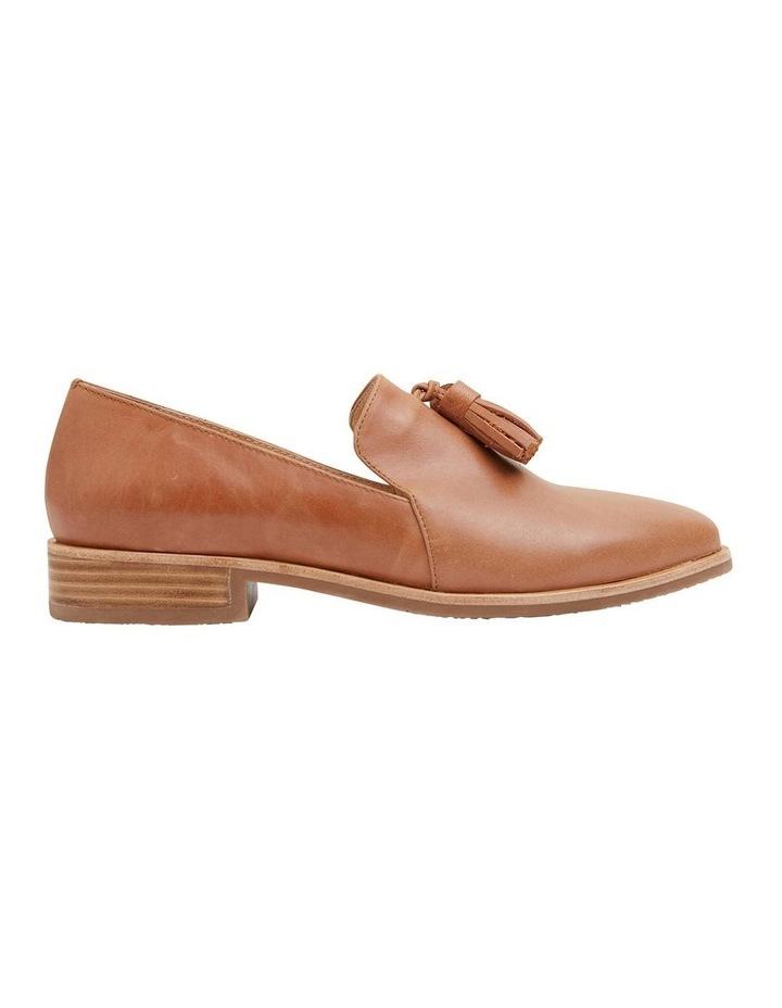 Salvador Tan Glove Flat Shoes image 1