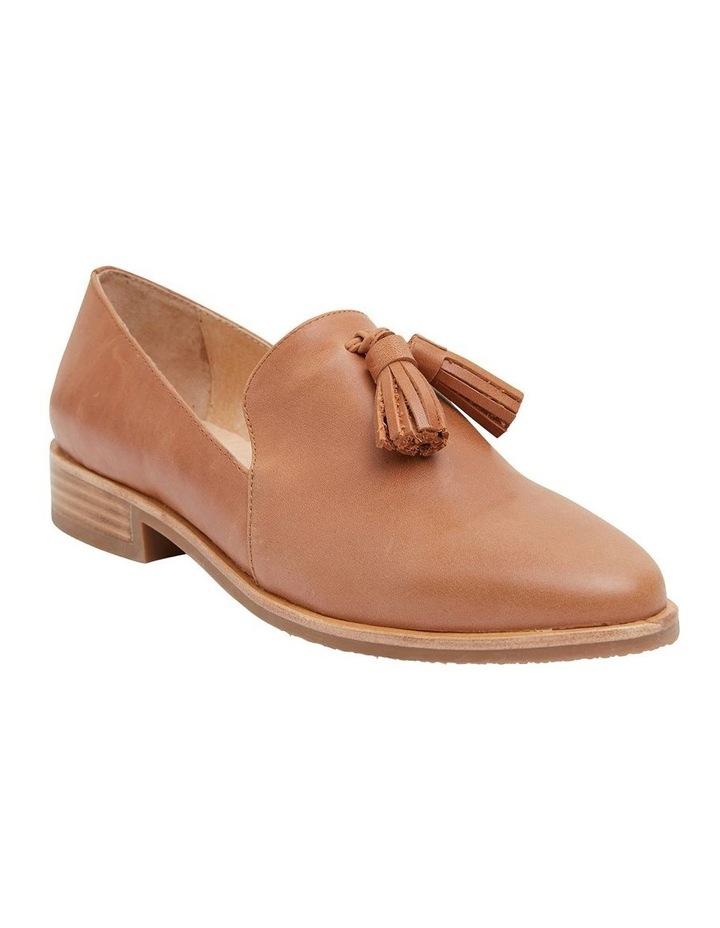 Salvador Tan Glove Flat Shoes image 2