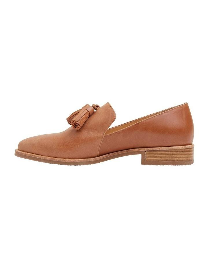 Salvador Tan Glove Flat Shoes image 3