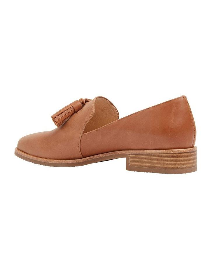 Salvador Tan Glove Flat Shoes image 4