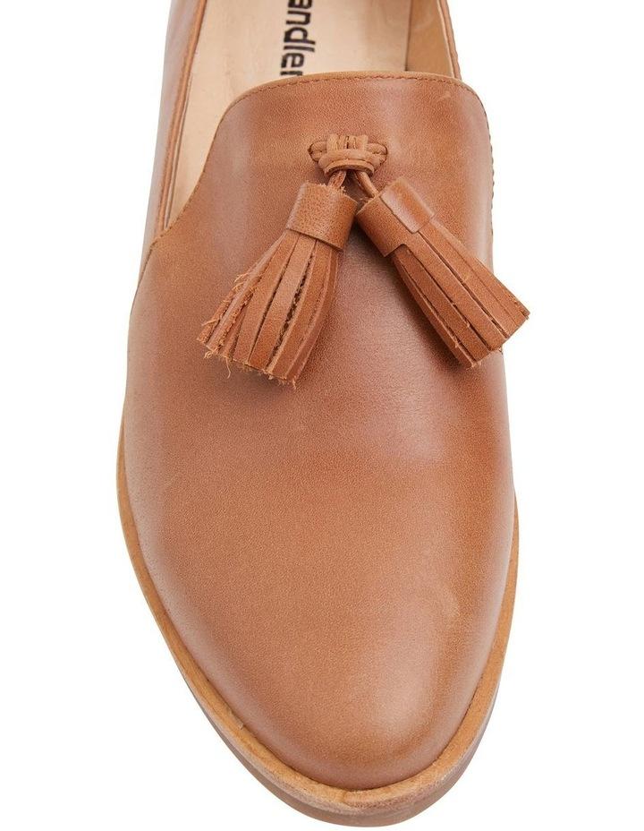 Salvador Tan Glove Flat Shoes image 5