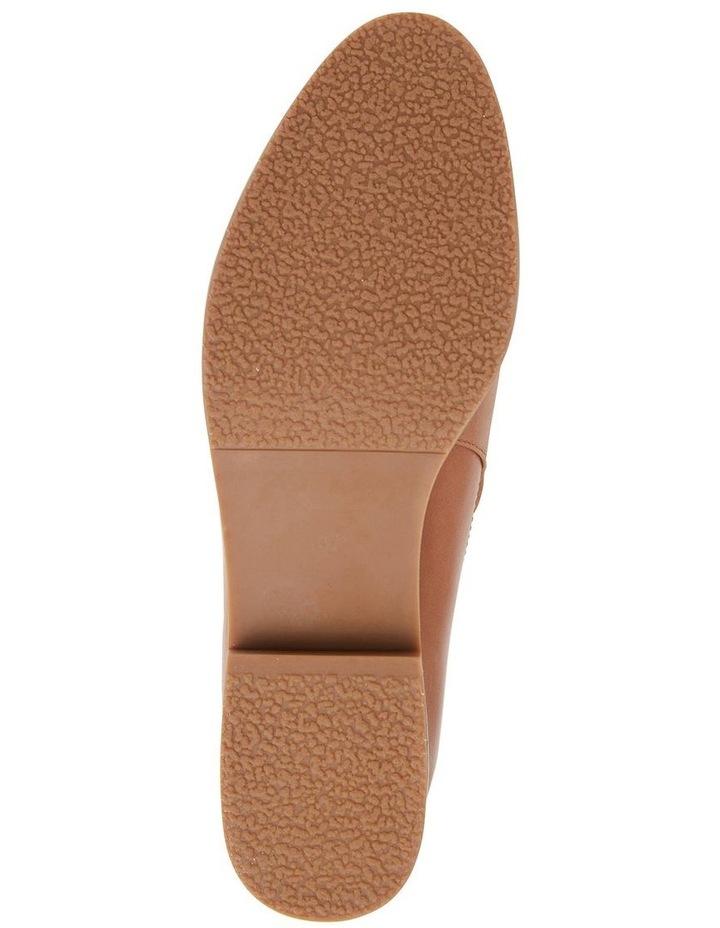Salvador Tan Glove Flat Shoes image 7