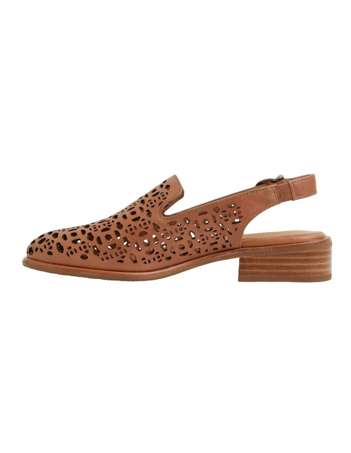 Scribe Tan Glove Flat Shoes image 3