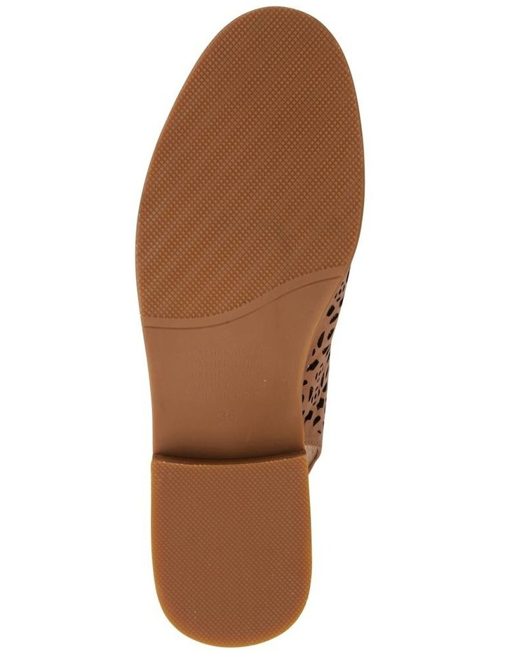 Scribe Tan Glove Flat Shoes image 6