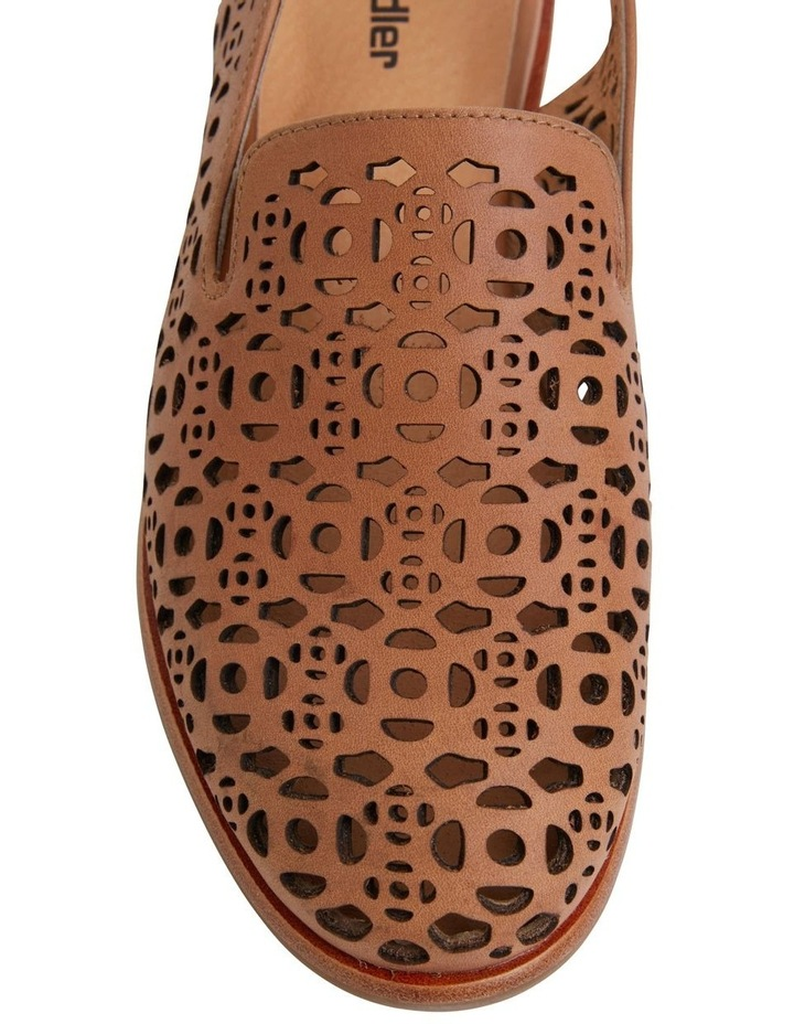 Scribe Tan Glove Flat Shoes image 7