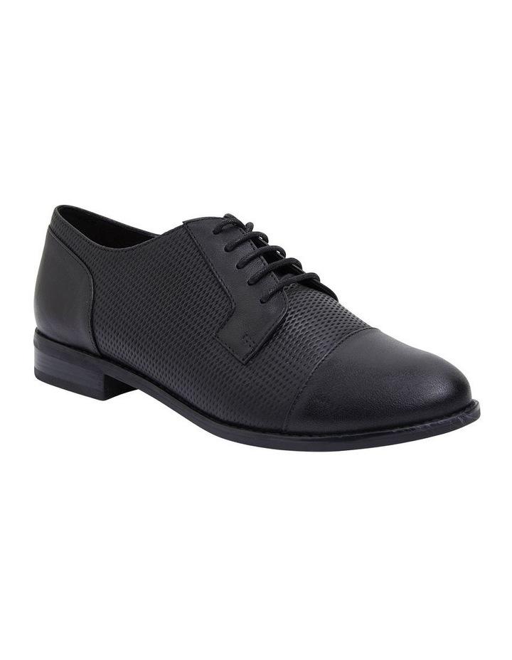 Panache Black Glove Flat Shoes image 2