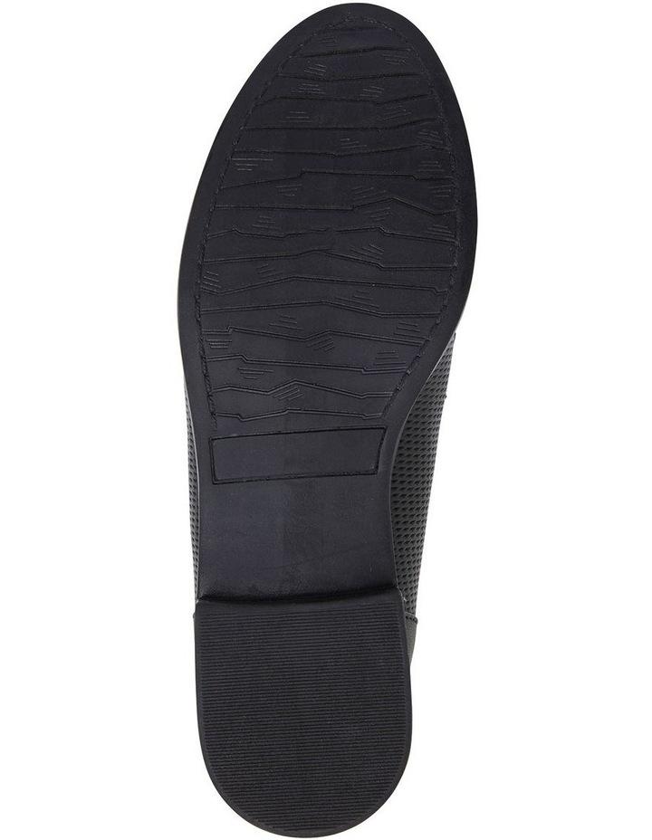 Panache Black Glove Flat Shoes image 7