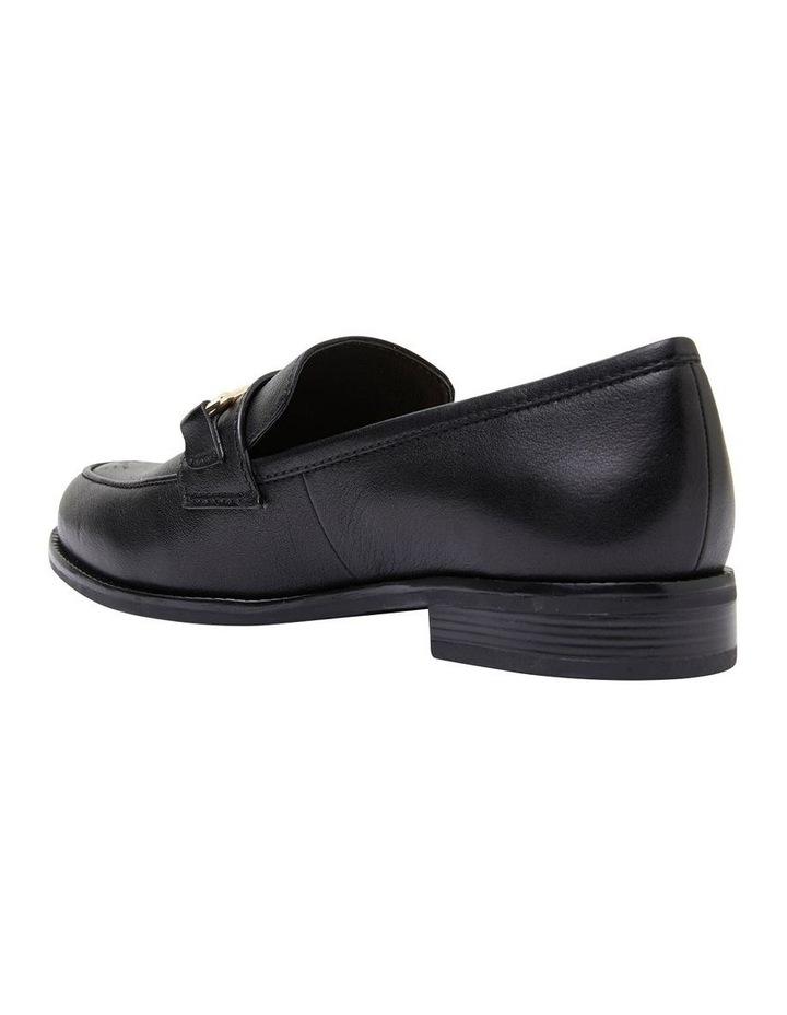 Paragon Black Glove Flat Shoes image 4