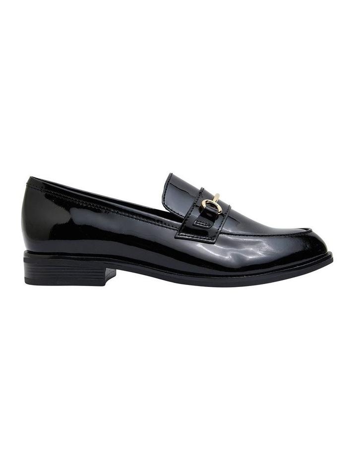 Paragon Black Patent Flat Shoes image 1