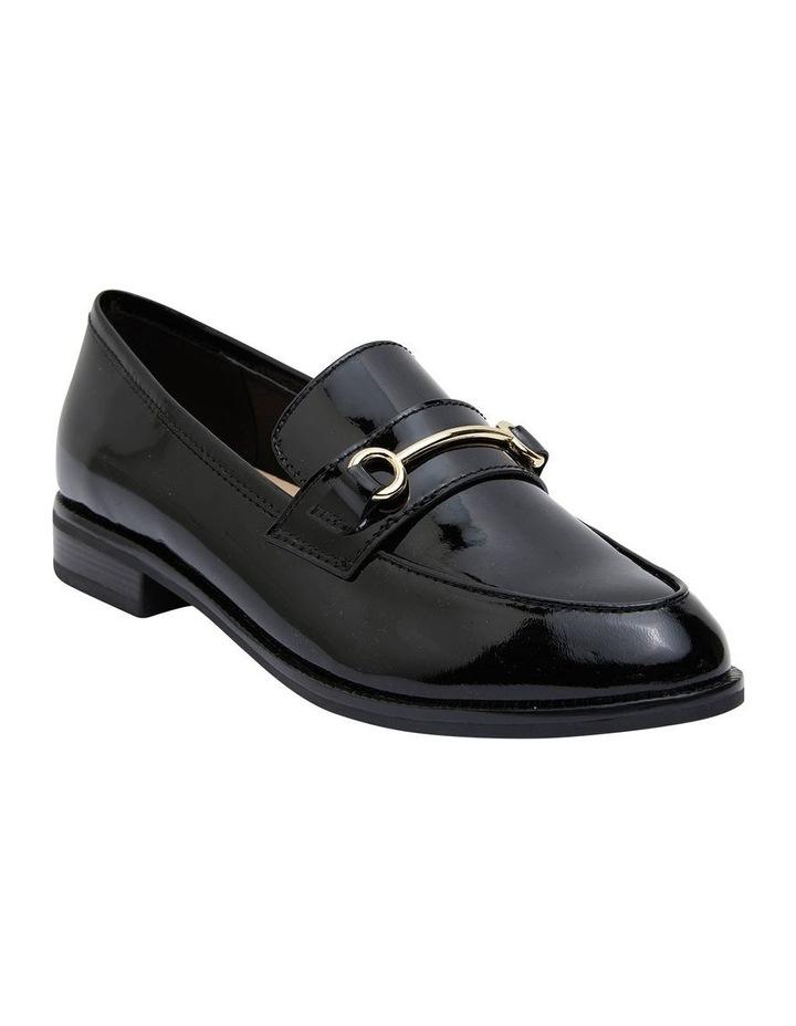 Paragon Black Patent Flat Shoes image 2