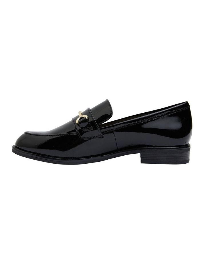 Paragon Black Patent Flat Shoes image 3