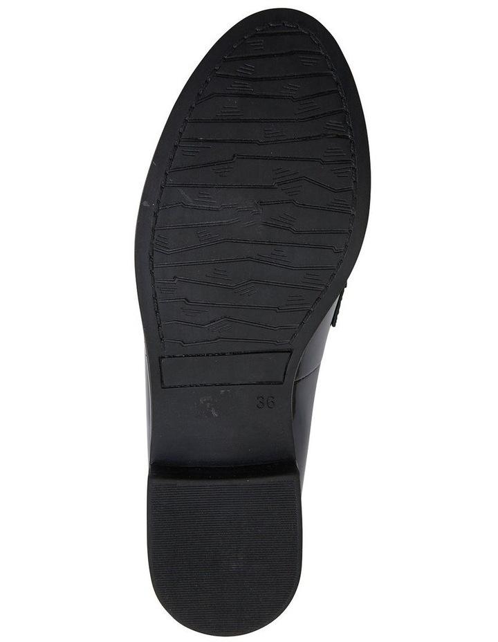 Paragon Black Patent Flat Shoes image 7