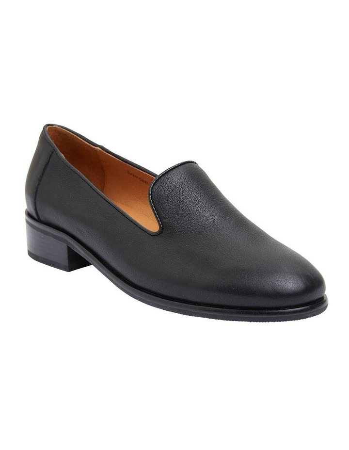 Sanford Black Glove Flat Shoes image 2
