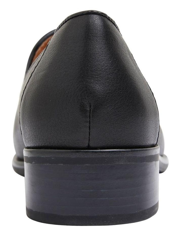 Sanford Black Glove Flat Shoes image 6