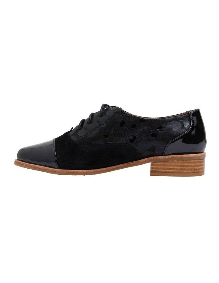 Shiraz Black Multi Flat Shoes image 3
