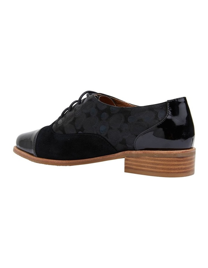 Shiraz Black Multi Flat Shoes image 4