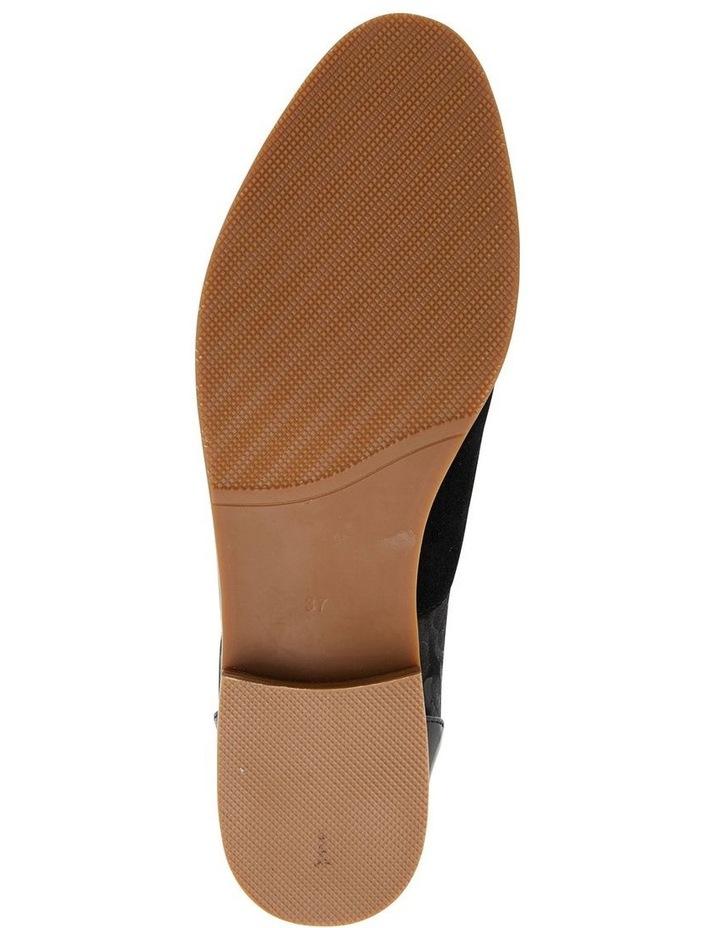 Shiraz Black Multi Flat Shoes image 7