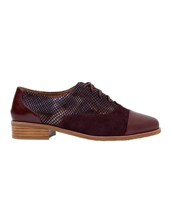 Shiraz Burgundy Multi Flat Shoes image 1