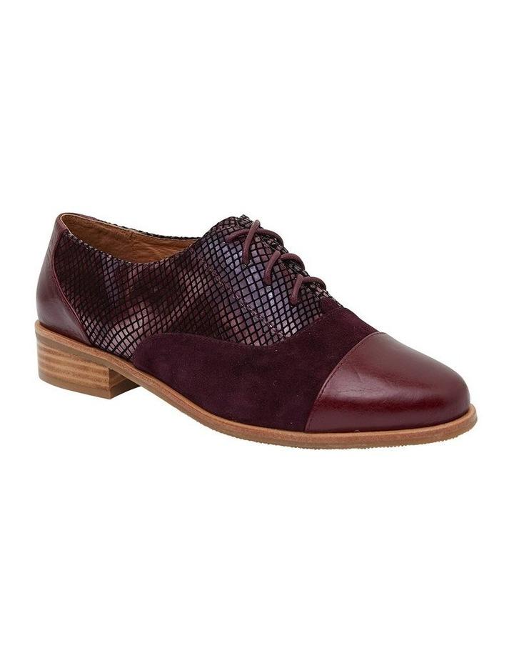 Shiraz Burgundy Multi Flat Shoes image 2