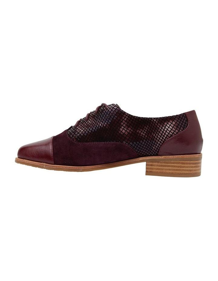Shiraz Burgundy Multi Flat Shoes image 3