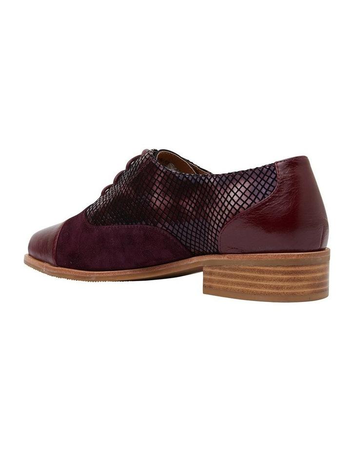 Shiraz Burgundy Multi Flat Shoes image 4