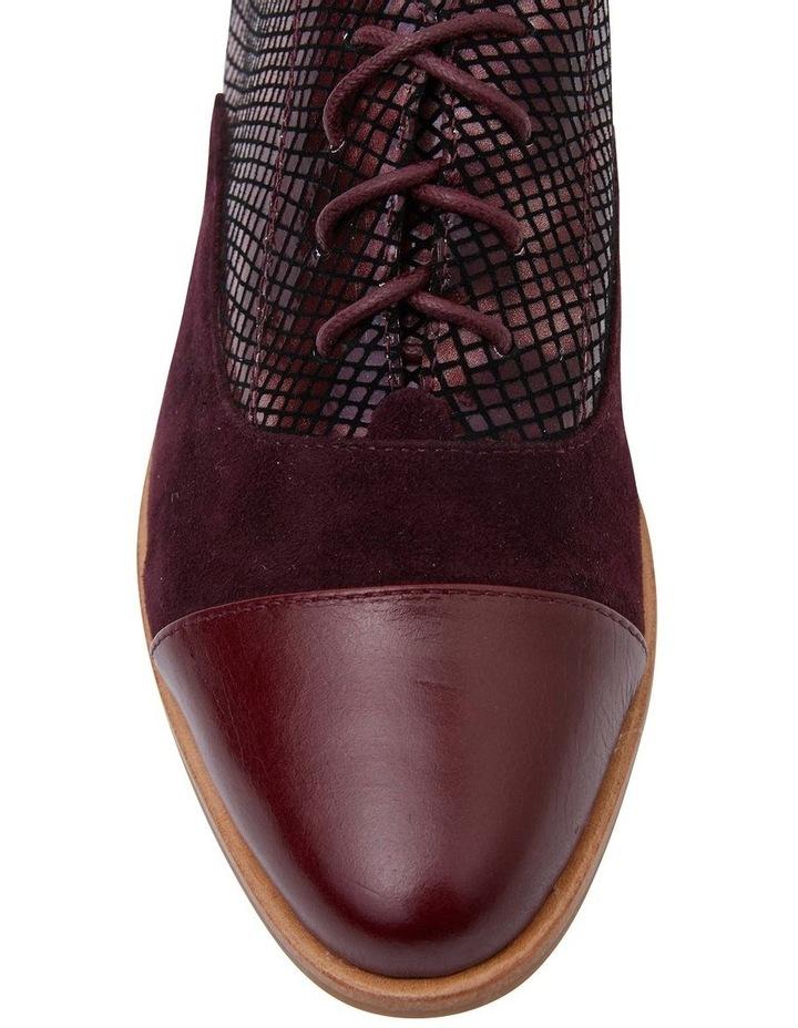 Shiraz Burgundy Multi Flat Shoes image 5