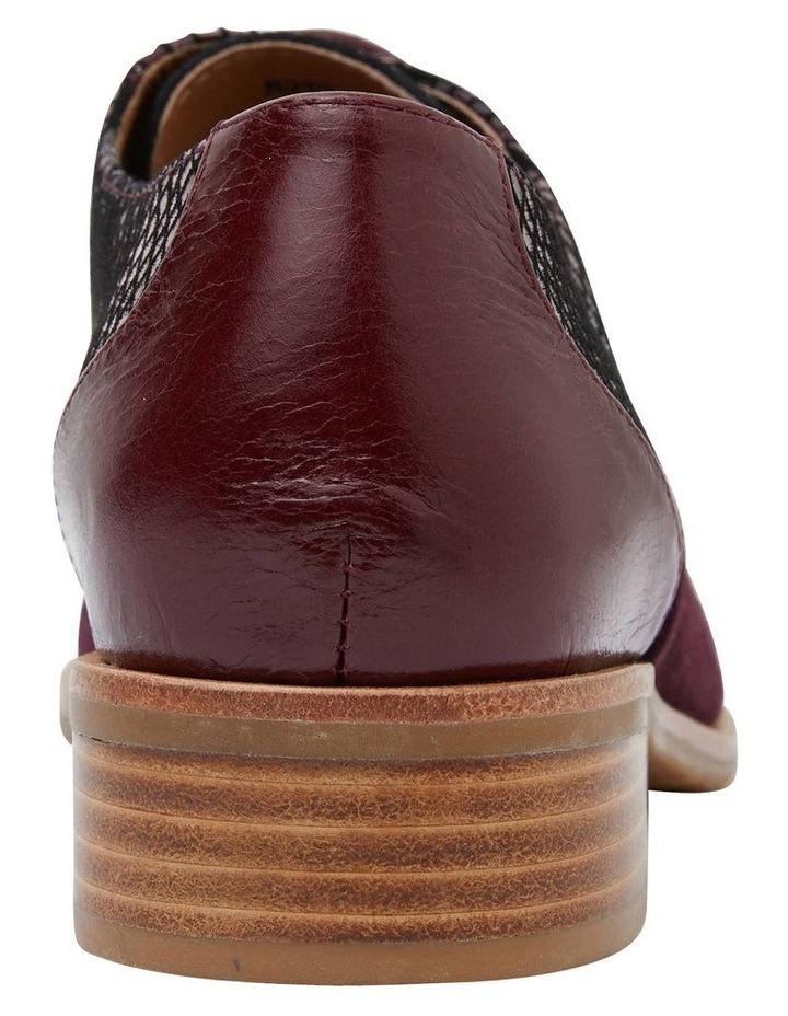 Shiraz Burgundy Multi Flat Shoes image 6