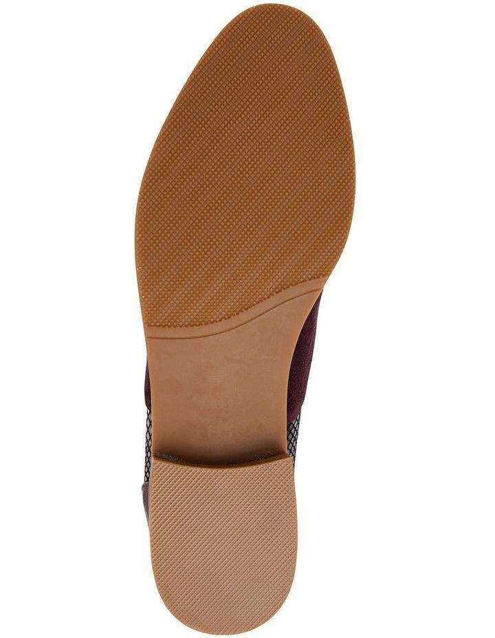 Shiraz Burgundy Multi Flat Shoes image 7