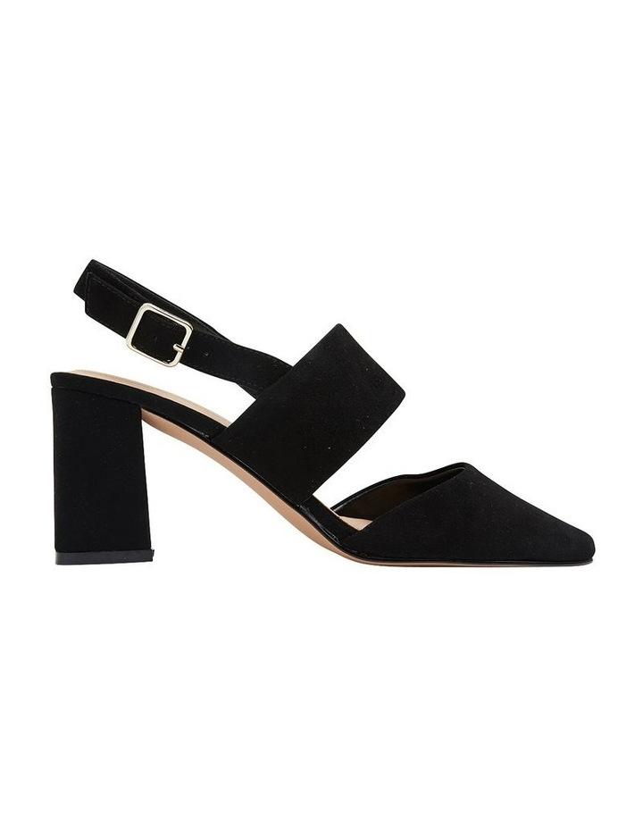 Kitson Black Suede Heeled Shoes image 1