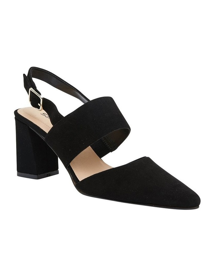 Kitson Black Suede Heeled Shoes image 2
