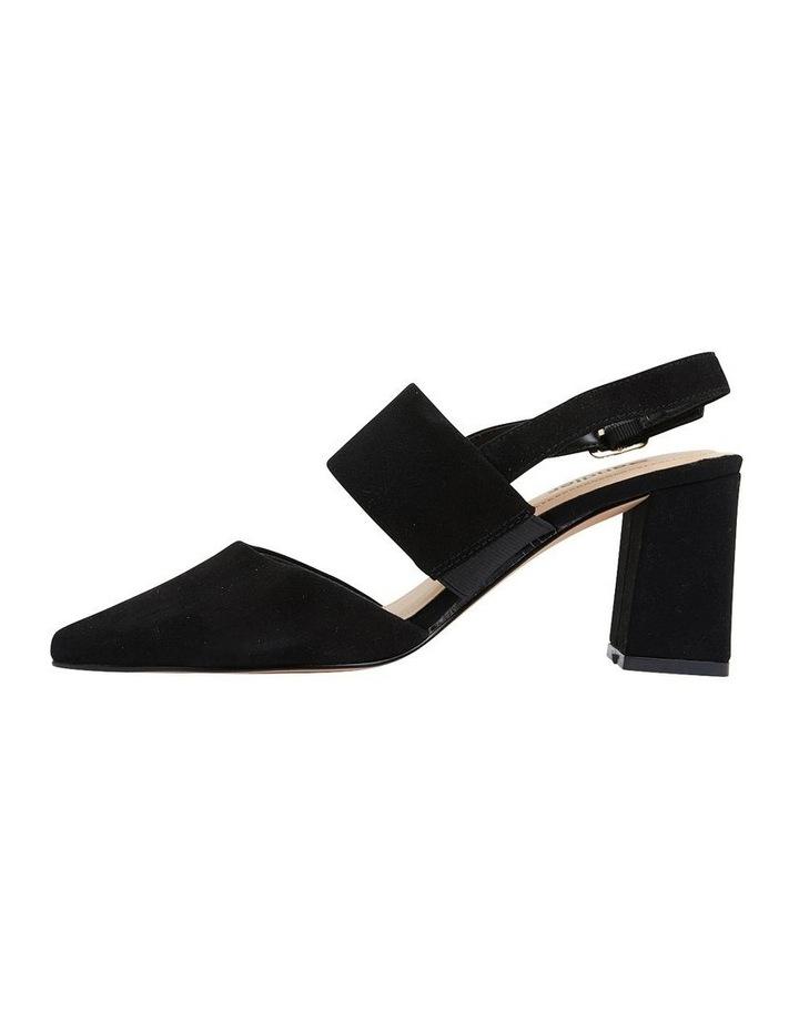 Kitson Black Suede Heeled Shoes image 3