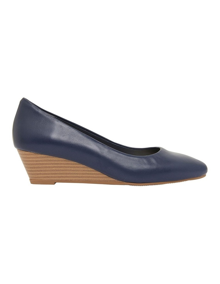 Henry Navy Glove Heeled Shoes image 1