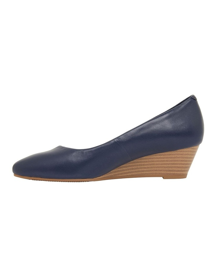 Henry Navy Glove Heeled Shoes image 3