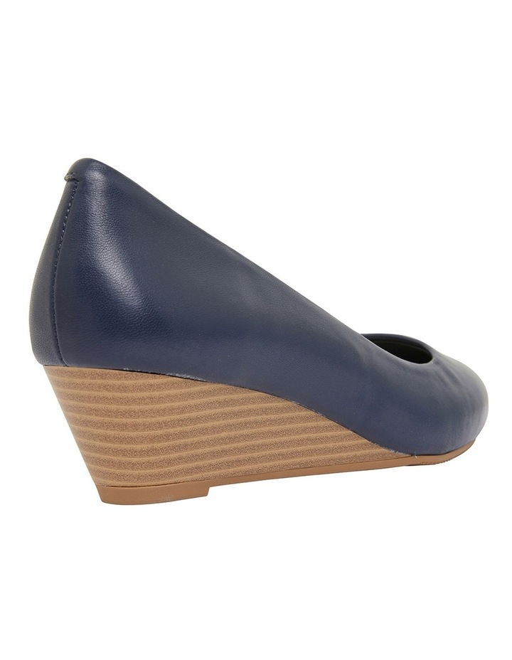 Henry Navy Glove Heeled Shoes image 4