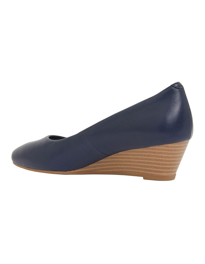 Henry Navy Glove Heeled Shoes image 7