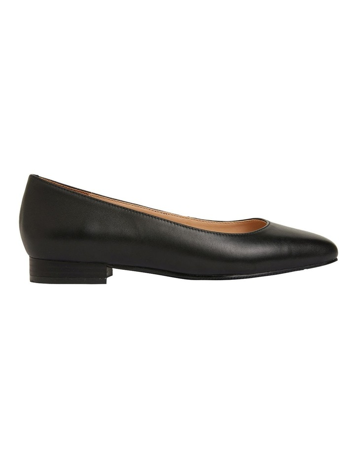 Gaby Black Glove Flat Shoes image 1