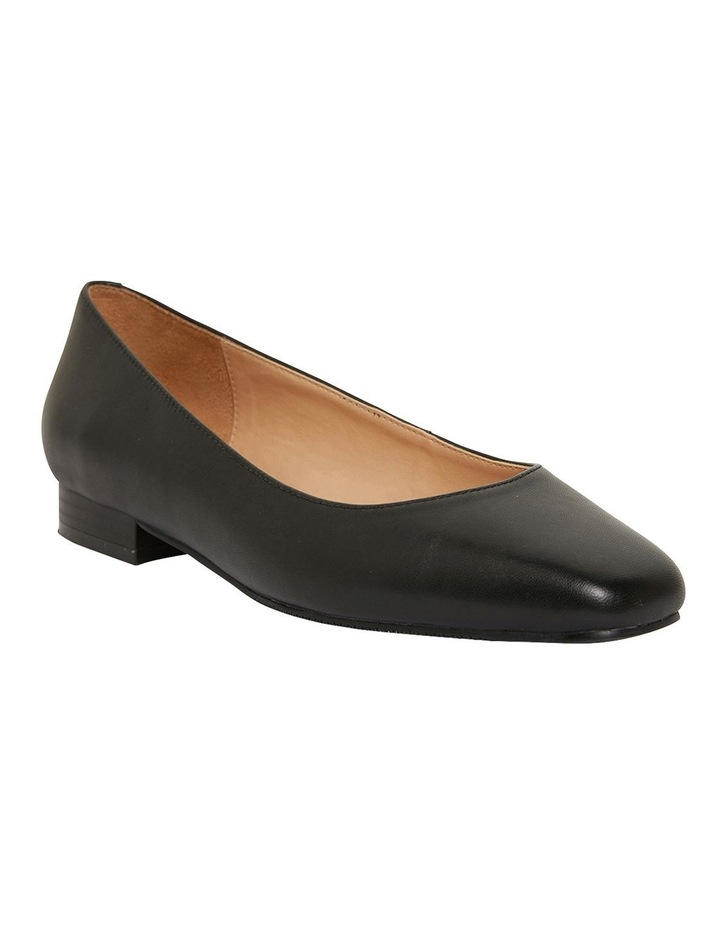 Gaby Black Glove Flat Shoes image 2