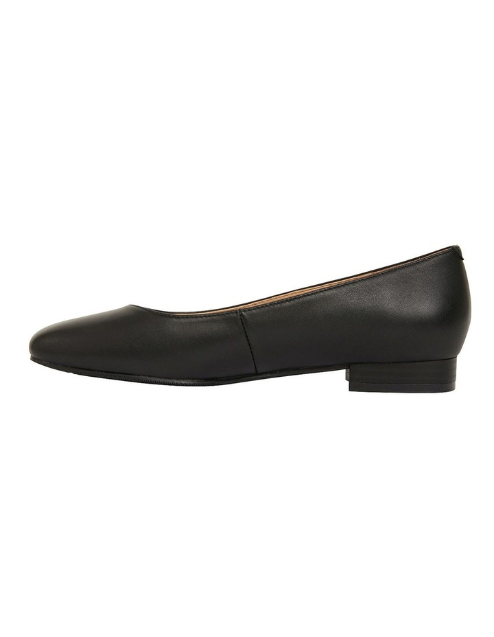 Gaby Black Glove Flat Shoes image 3