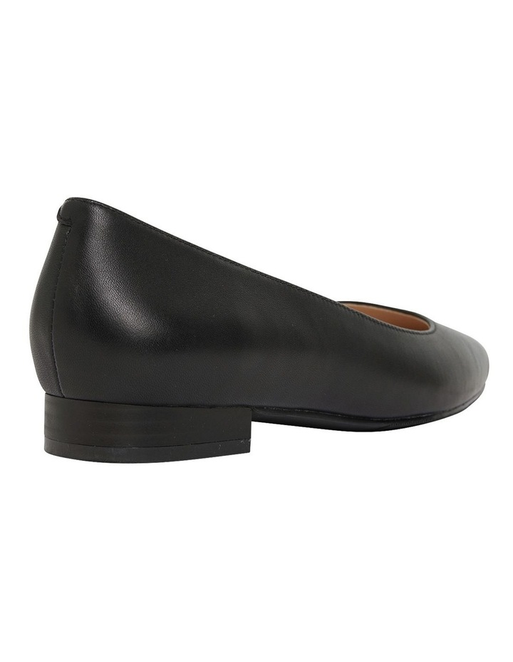 Gaby Black Glove Flat Shoes image 4