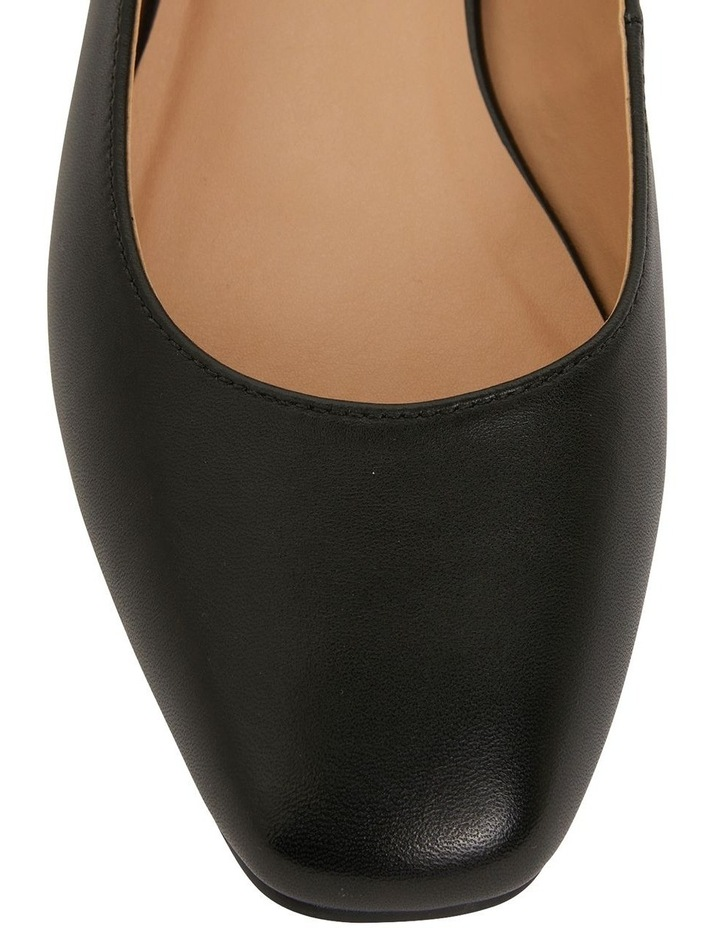Gaby Black Glove Flat Shoes image 6