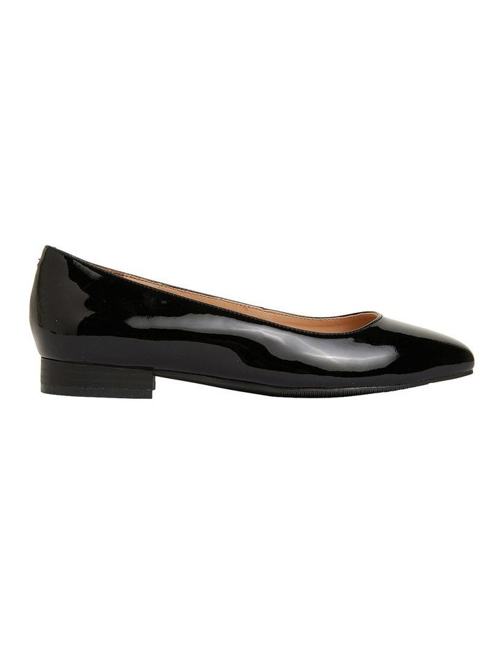 Gaby Black Patent  Flat Shoes image 1