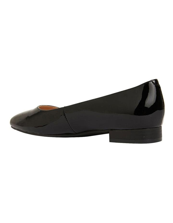 Gaby Black Patent  Flat Shoes image 7